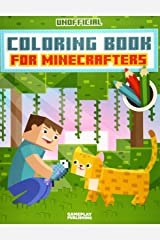 Coloring Book For Minecrafters: An Unofficial Gamer's Adventure Paperback