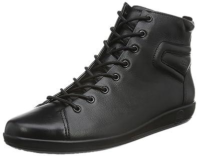 Ecco Soft 2.0, Zapatillas de Estar por Casa para Mujer, Negro (Black with Black SOLE56723), 43 EU