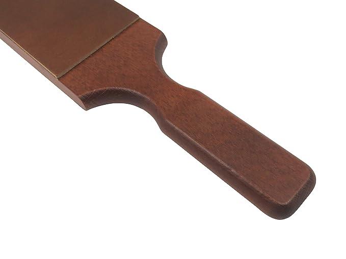 """Amazon.com: Francés piel strop Paddle 2-Sided 3"""" x ..."""