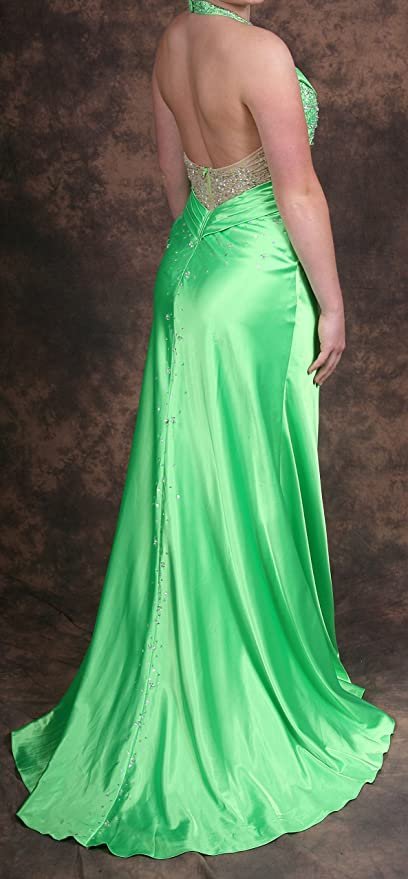 Prom Dress-Lime Green Size 5/6