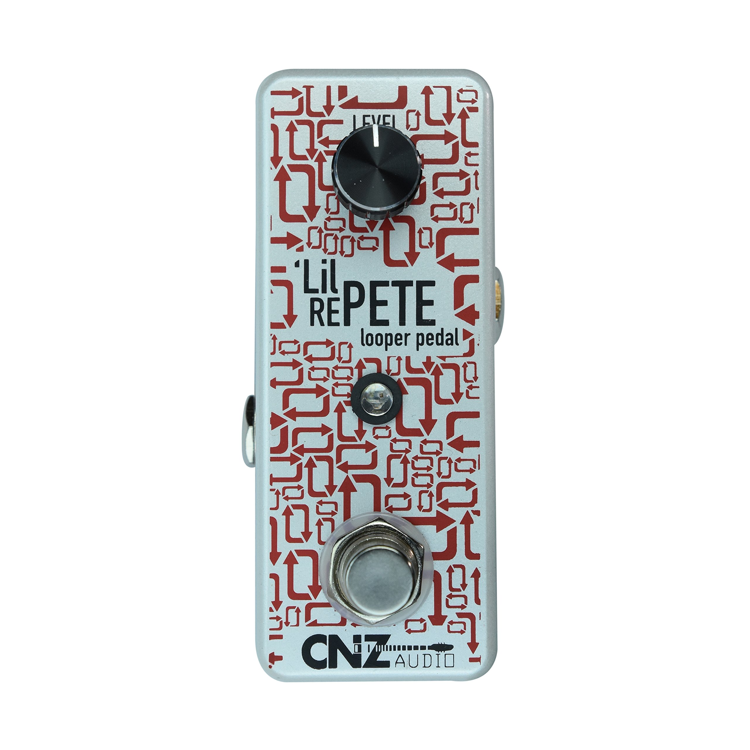 CNZ Audio Lil Re-Pete Looper Guitar Effects Pedal, True Bypass