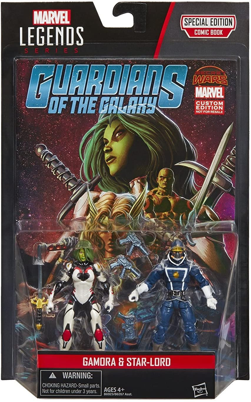 Gamora & Star-Lord Marvel Legends 3.75 Comic Pack Guardians of The ...