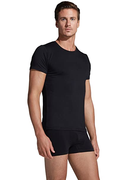 size 7 suitable for men/women stylish design Boody Body EcoWear Mens Crew Neck T-Shirt - Cooling Athletic Short Sleeve  Tee