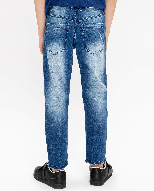 GULLIVER Jungen Jeans Jeanshosen Kinder Junge Blau mit L/öcher Zerrissen Stretch 9-15 Jahre