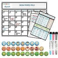 Deals on Magnetic Dry Erase Calendar Set