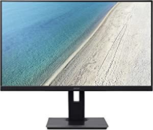 "Acer B227Q bmiprx 21.5"" Full HD (1920 x 1080) IPS Frameless ErgoStand Professional Monitor (Display, HDMI, VGA Ports)"