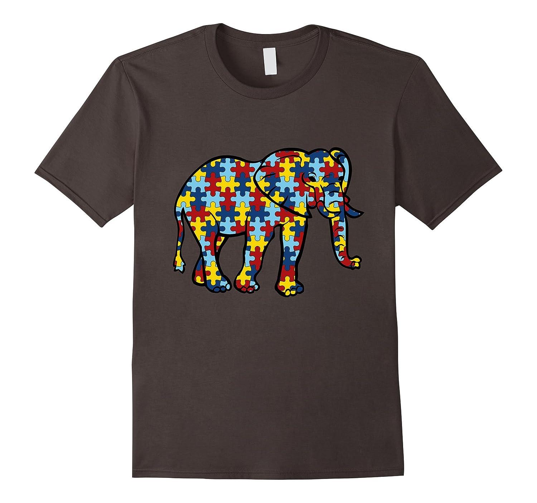 Autism Awareness Elephant TShirt Animal-Art