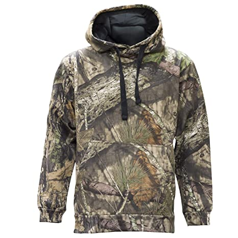 fb0dc4a6ae8c9 Staghorn Mossy Oak Poly Camo Hoody, Mossy Breakup Country, Small
