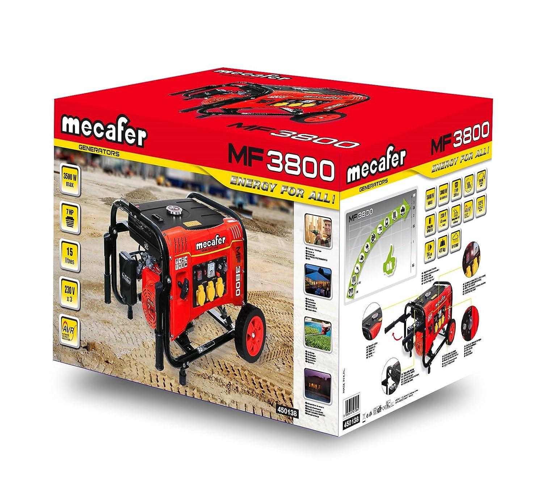 Mecafer 450138 MF3800 Groupe électrogène sur roues 3500 W  Amazon.fr   Bricolage 9be744ea06db