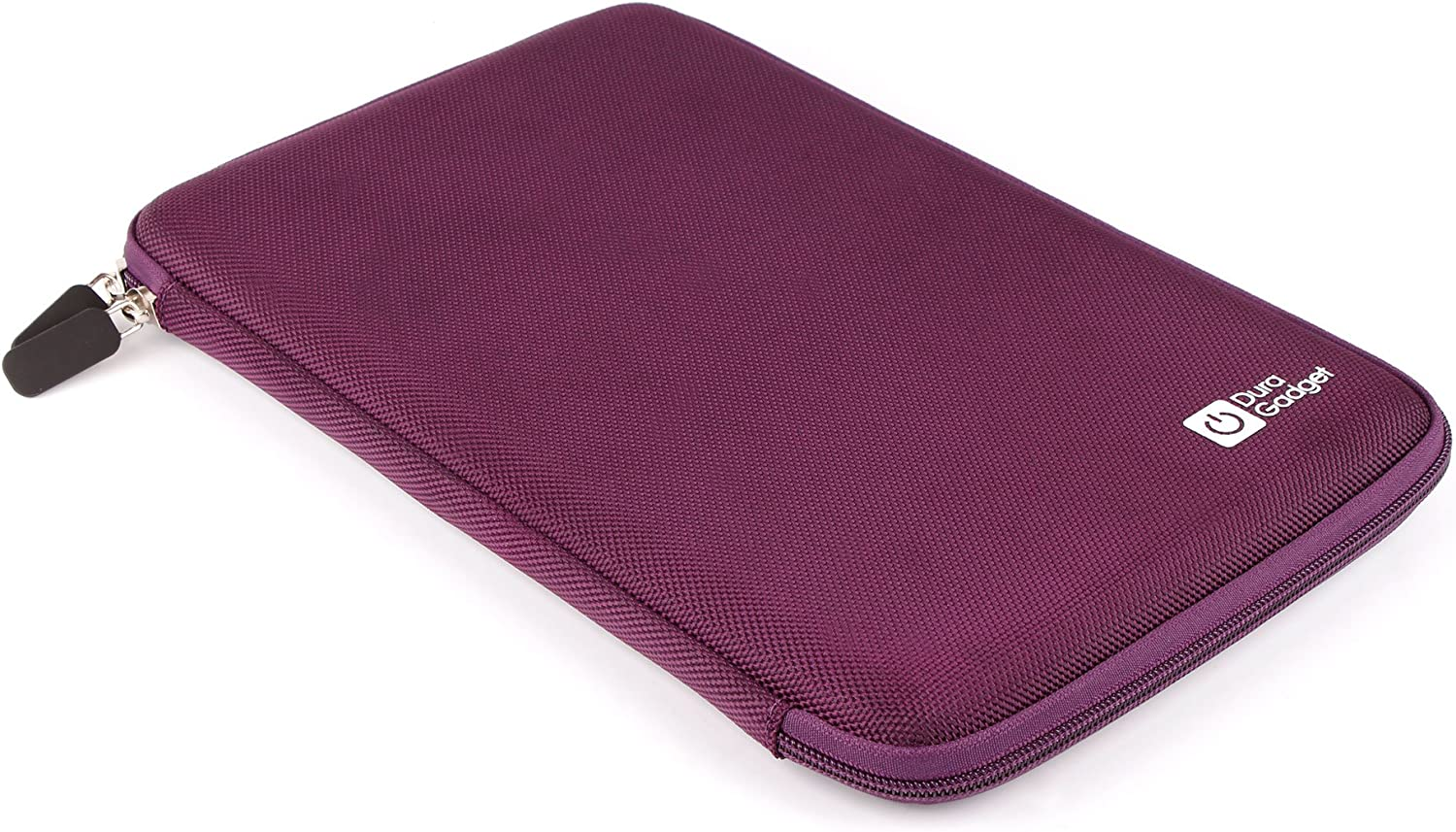 "DURAGADGET 10 Inch Purple Scratch Resistant Protective Shell Zip Pouch With Soft Felt Lining For Acer Iconia Tab A211, Acer Iconia Tab A210 10.1 Inch Multi-Touch LED Tablet (Nvidia Tegra 3 T30L 1.2GHz, 16GB SSD, Android 4.1) & Acer Iconia Tab A200 10.1"" Tegra2DC (1GB RAM, 8GBeMMC, Android 4.0)"