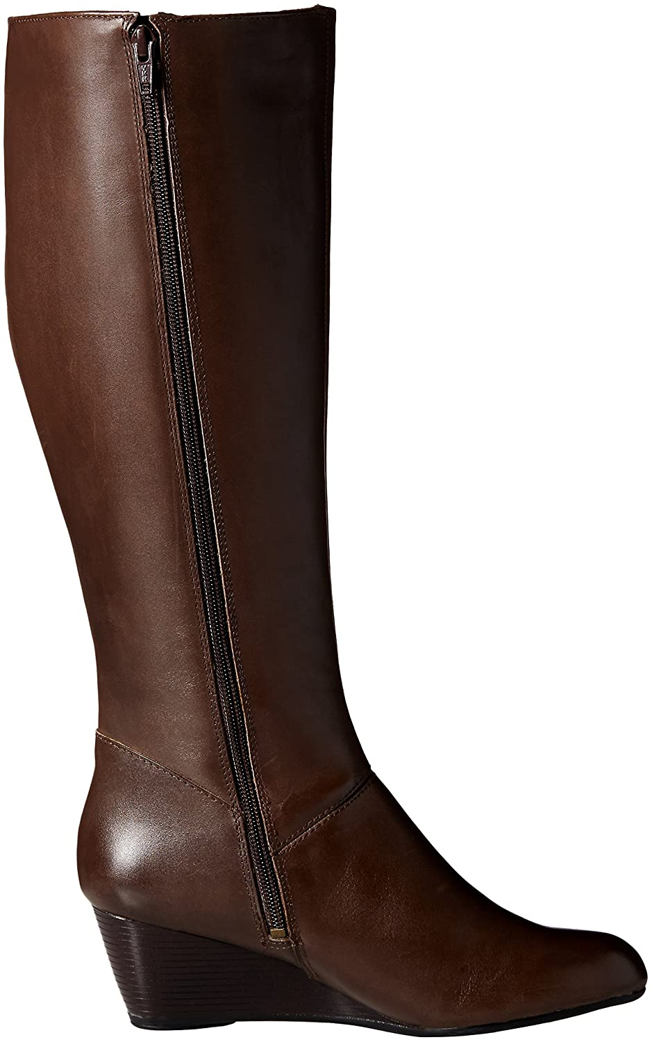 Hush Puppies Women's Pynical Rhea Boot B019YMYS8E 8 B(M) US|Dark Brown Leather