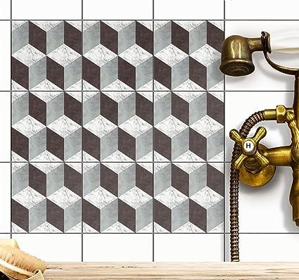 Amazon piastrelle bagno piastrelle adesive per pellicola for Mosaico adesivo per cucina