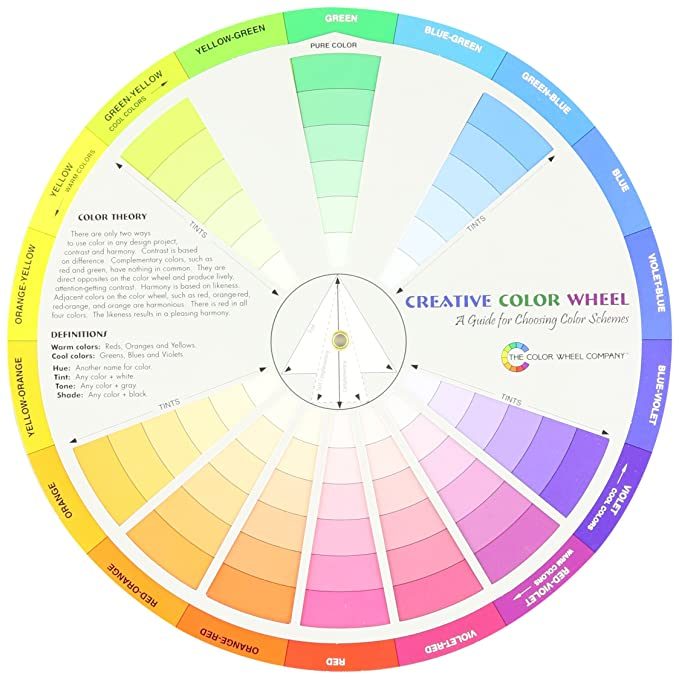 Amazon Com Cox 3389 Creative Color Wheel