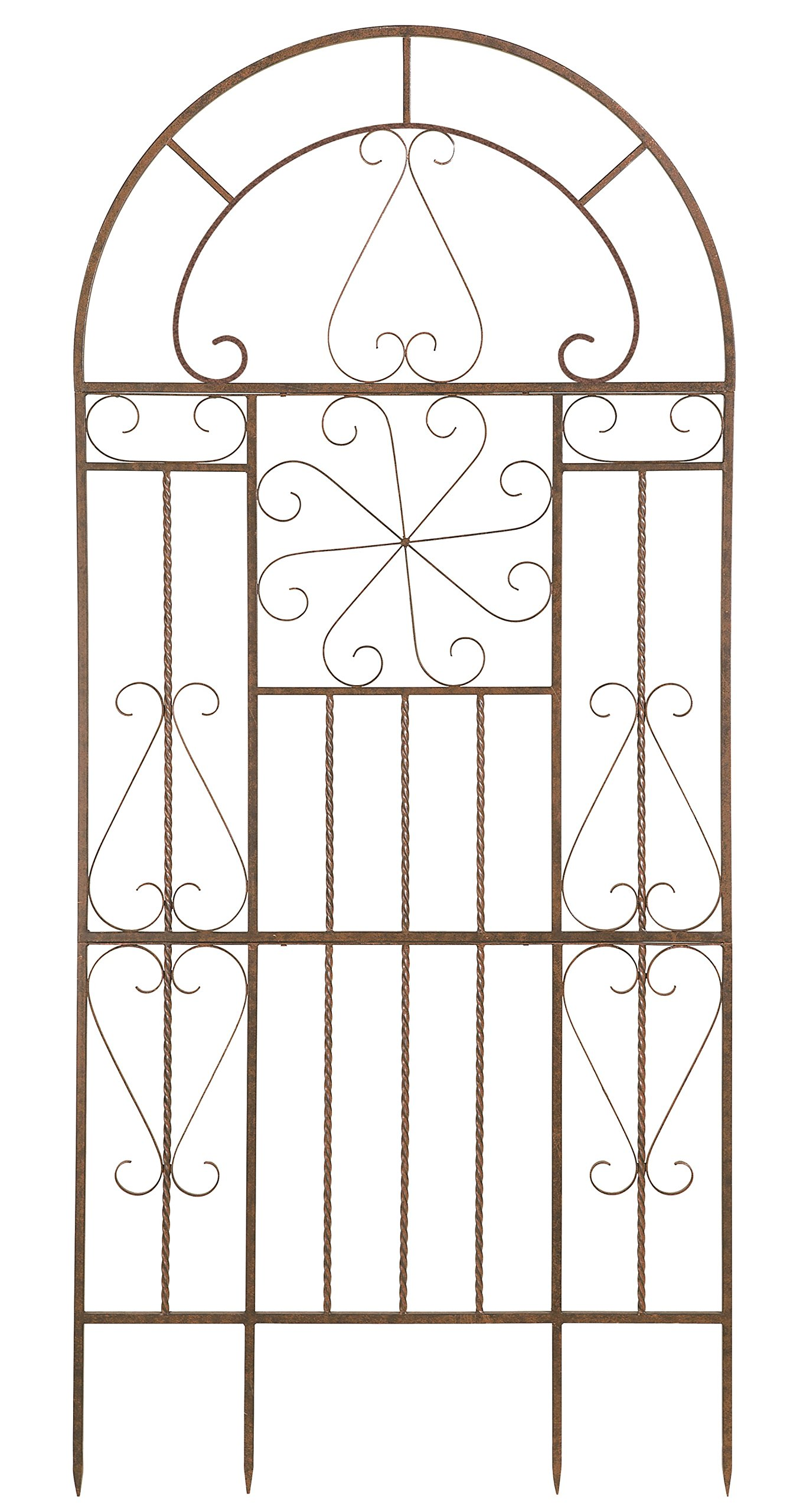 Deer Park Ironworks Kaleidoscope Trellis, Large by Deer Park Ironworks