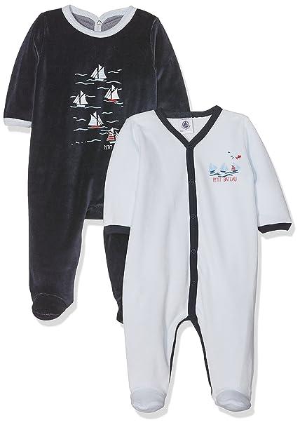 Petit Bateau Lot Luck Conjuntos de Pijama, Unisex Bebé, Multicolor (Special Lot 98