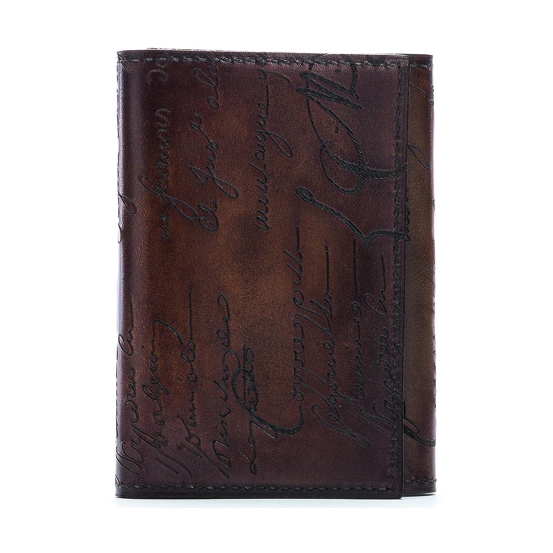 (ベルルッティ) Berluti Imbuia 名刺入れ 化粧箱保存袋ショップバッグ付き カードケース カードホルダー イタリア製 正規品 カリグラフィー メンズ 本革 カーフレザー ベルルティ B00W9NHCRK