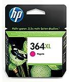 HP 364XL - Cartucho de tinta Original HP 364XL de álta capacidad Magenta para HP DeskJet, HP OfficeJet y HP PhotoSmart 8 ml 750 páginas 1 paquete con tinta Vivera