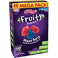 Fruity Snacks, Mixed Berry, 40 Count
