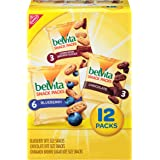 belVita Breakfast Biscuit Bites Variety Pack, 3 Flavors, 12 Packs