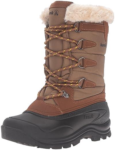 Kamik Womens Shellback Snow Boot Khaki