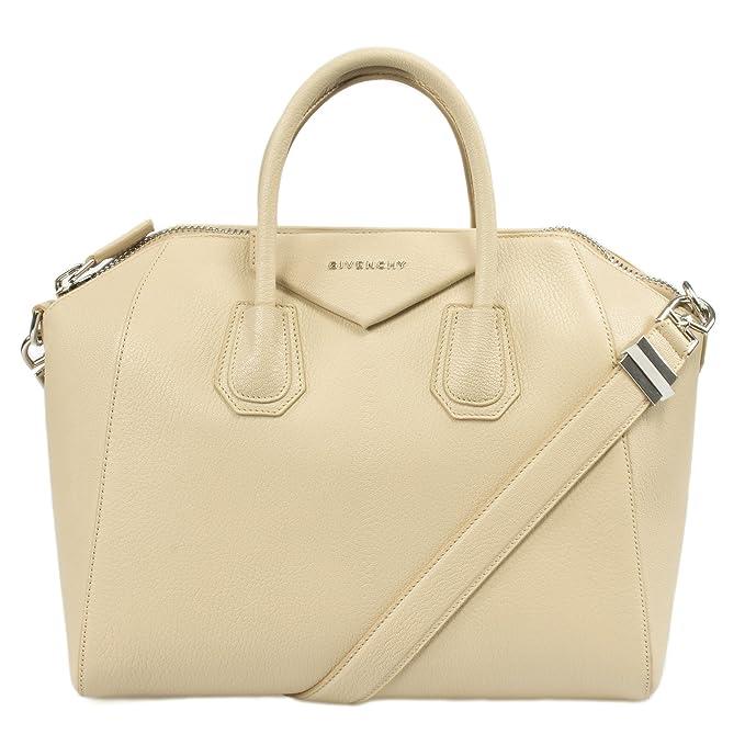 a4a6d3305d5 Givenchy Women's Antigona Matte Satchel Bag, Beige, Medium: Givenchy:  Amazon.ca: Clothing & Accessories