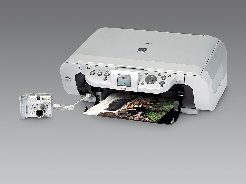 Canon Pixma Mp460 All In One Photo Printer 1449b002 Pg 40 Bekas Electronics