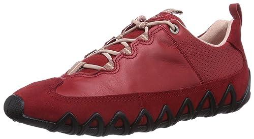 Ecco Dayla - Zapatillas para mujer, color rojo (chili red/chili red 55183), talla 41