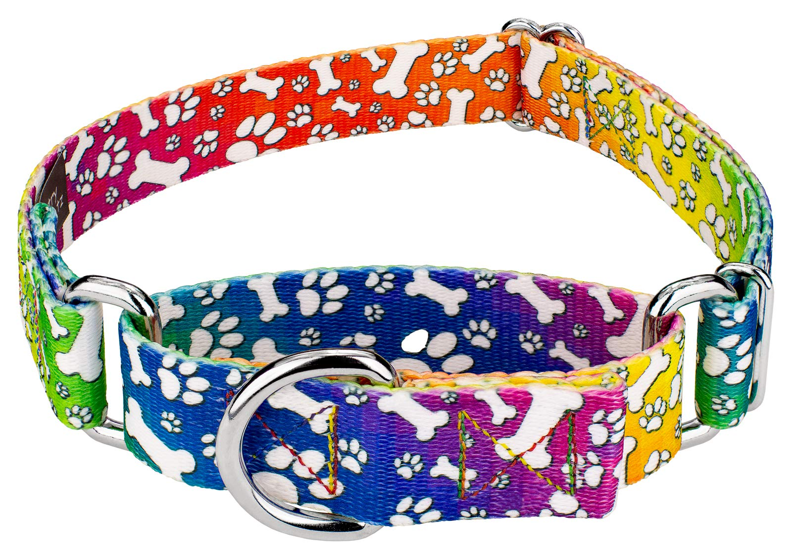 6694503b8d Country Brook Petz | Martingale Dog Collar - Groovy Collection product image