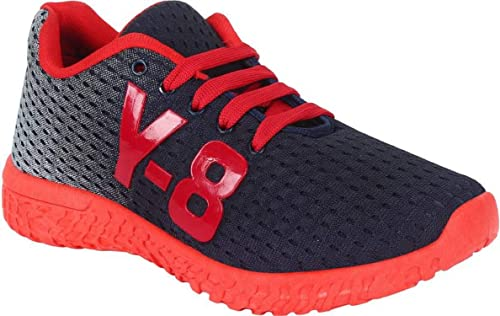 76e4911f4402 Axter Shoefly Men Red-1064 Sports Running Shoes  Amazon.in  Shoes ...
