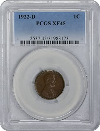 1915-S Lincoln Cent XF45 PCGS Extra Fine 45