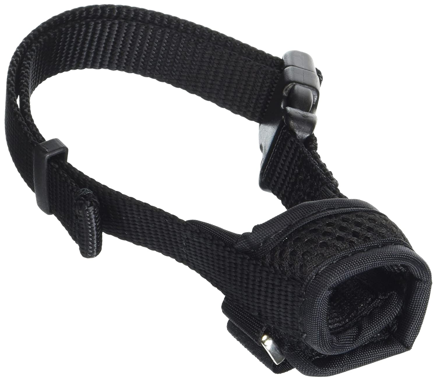 Coastal Pet Products 01360 BLKXSM Best Fit Comfort Dog Muzzle-Snout Size Harnesses, Black, 3'-3.75' 3-3.75 Notions - In Network