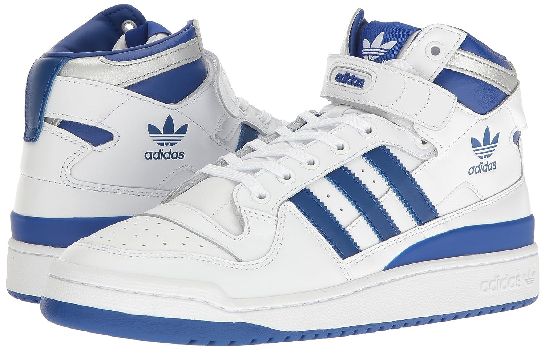 Amazon.com | adidas Originals Men's Forum Mid Refined Fashion Sneakers | Fashion Sneakers