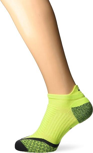 NIKE ELITE LIGHTWEIGHT NO SHOW DRIFIT RUNNING SOCKS WHITE UK5-6.5 7-8.5 9-10.5