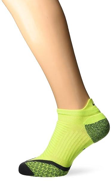 competitive price 5e9e9 d5fa1 Amazon.com  Nike Elite Cushioned No-Show Tab Running Sock  NIKE  Clothing