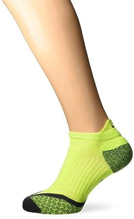 Nike No Show Socks Elite Running Cushion NST Calcetines, Unisex