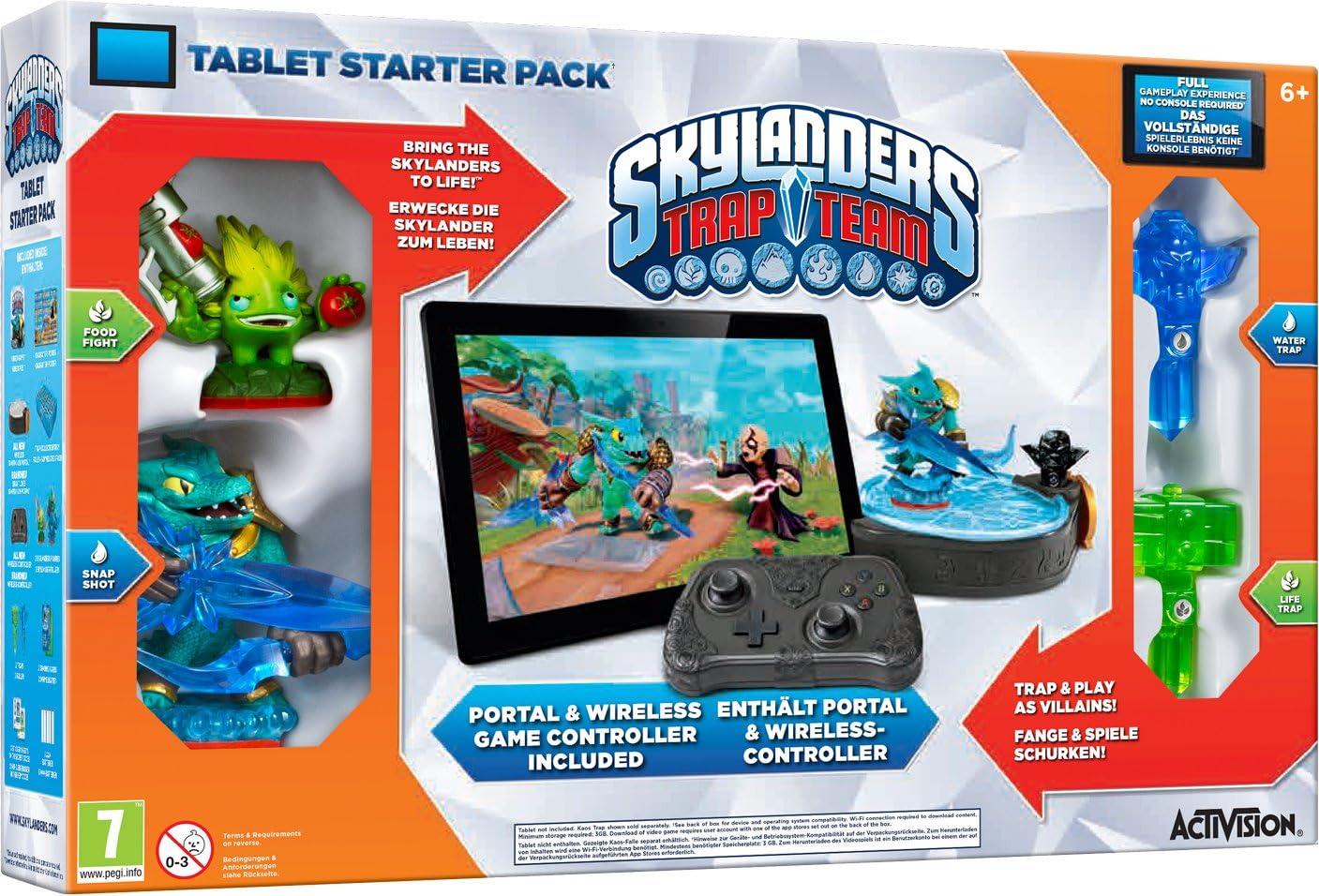 Skylanders Trap Team: Starter Pack (Tablet) [Importación Inglesa]: Amazon.es: Videojuegos