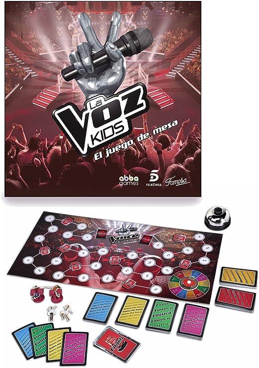 Famogames - La Voz Kids (Famosa 700012521): Amazon.es: Juguetes y juegos