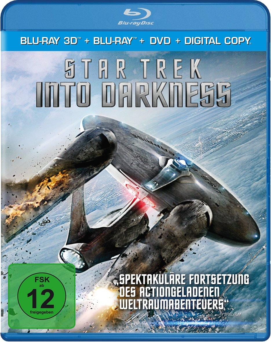 Star Trek 12 - Into Darkness(+ Blu-ray) (+ DVD) (inkl. Digital-Copy) [Alemania] [Blu-ray]