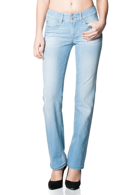 SALSA Straight legged, light blue denim Curvy Bliss Jeans