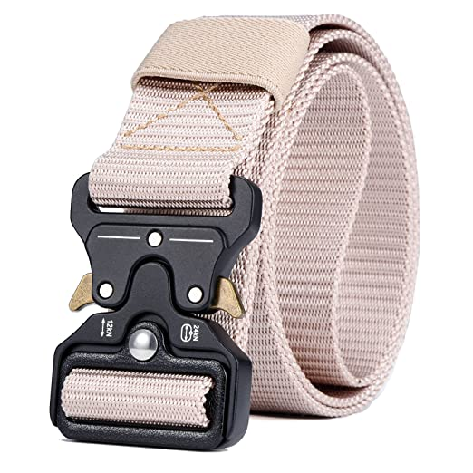Military Tactical Belt,Quick Release Buckle, Long 43