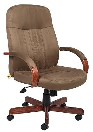 amazon com boss office products b8386 dkc microfuber executive rh amazon com