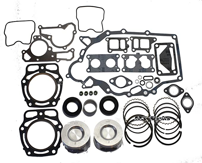Amazon Kawasaki Mule 2500 2510 2520 3000 3010 3020 4000 4010 Kaf620 John Deere Fd620 Fd661 Engine Rebuilt Kit With 2 Standard Pistons And: Kawasaki Mule 3000 Engine Parts Diagram At Sergidarder.com