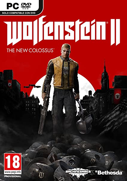 Wolfenstein II: The New Colossus - Day One Edition + Konix Ragnarok - Auriculares con micrófono para juegos, color negro: Amazon.es: Videojuegos