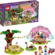 LEGO Friends Nature Glamping 41392 Building Kit; Includes Friends Mia, a Mini-Doll Tent and a Toy Bicycle, New 2020 (241 Piec