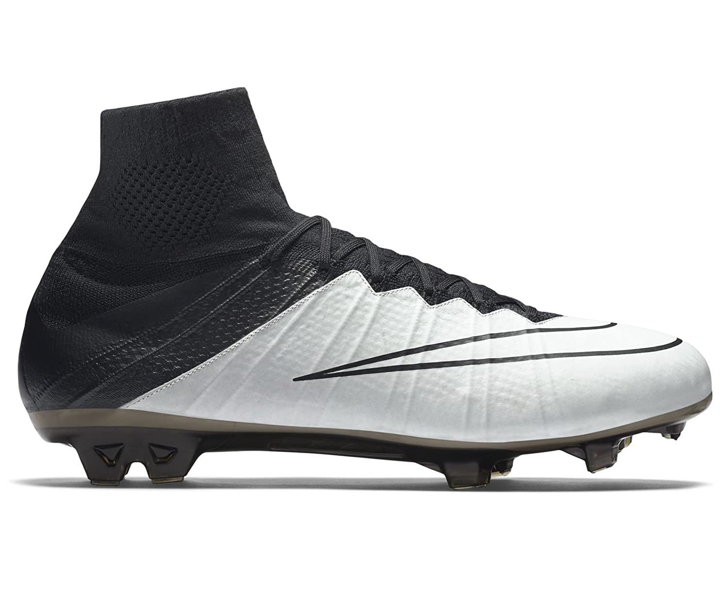 138e9dde69c6c NIKE Men's Mercurial Superfly Lthr FG Football Boots, Black (Light ...