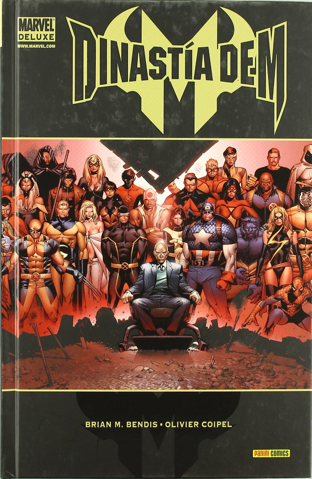 Dinastía De M (Marvel Deluxe) Tapa dura – 22 jul 2016 Brian Michael Bendis Panini España 8498852056 MEXMLDINAST