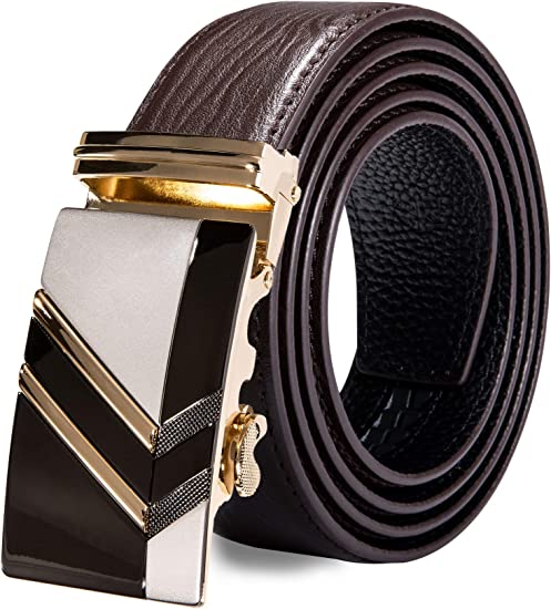 Casual Waistband Belt Strap Waist Men/'s Luxury Genuine Cow Leather With Gift Box
