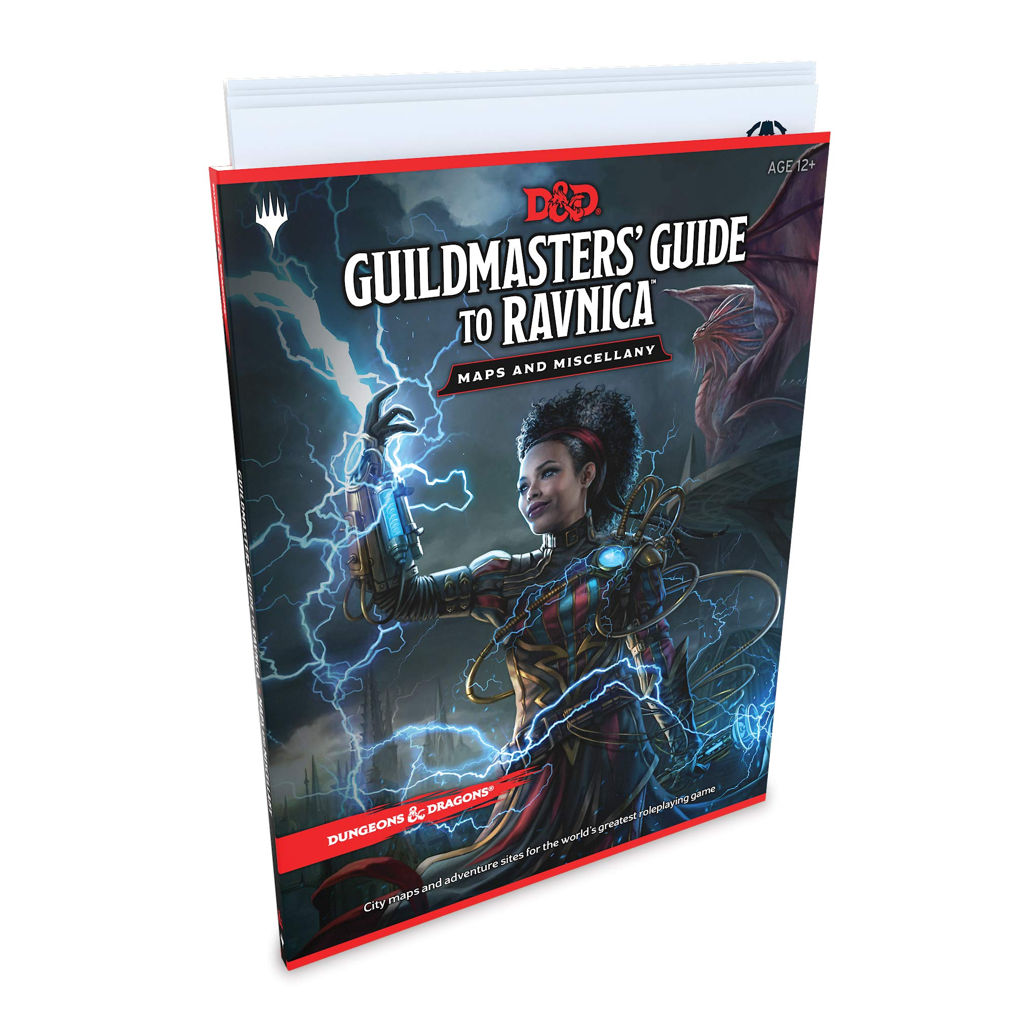 Dungeons & Dragons Guildmasters Guide to Ravnica Maps and Miscellany D&d/Magic: The Gathering Accessory: Amazon.es: Wizards Rpg Team: Libros en idiomas extranjeros