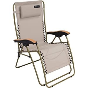ALPS Mountaineering Lay-Z Lounger Tan Anti-Gravity Chair