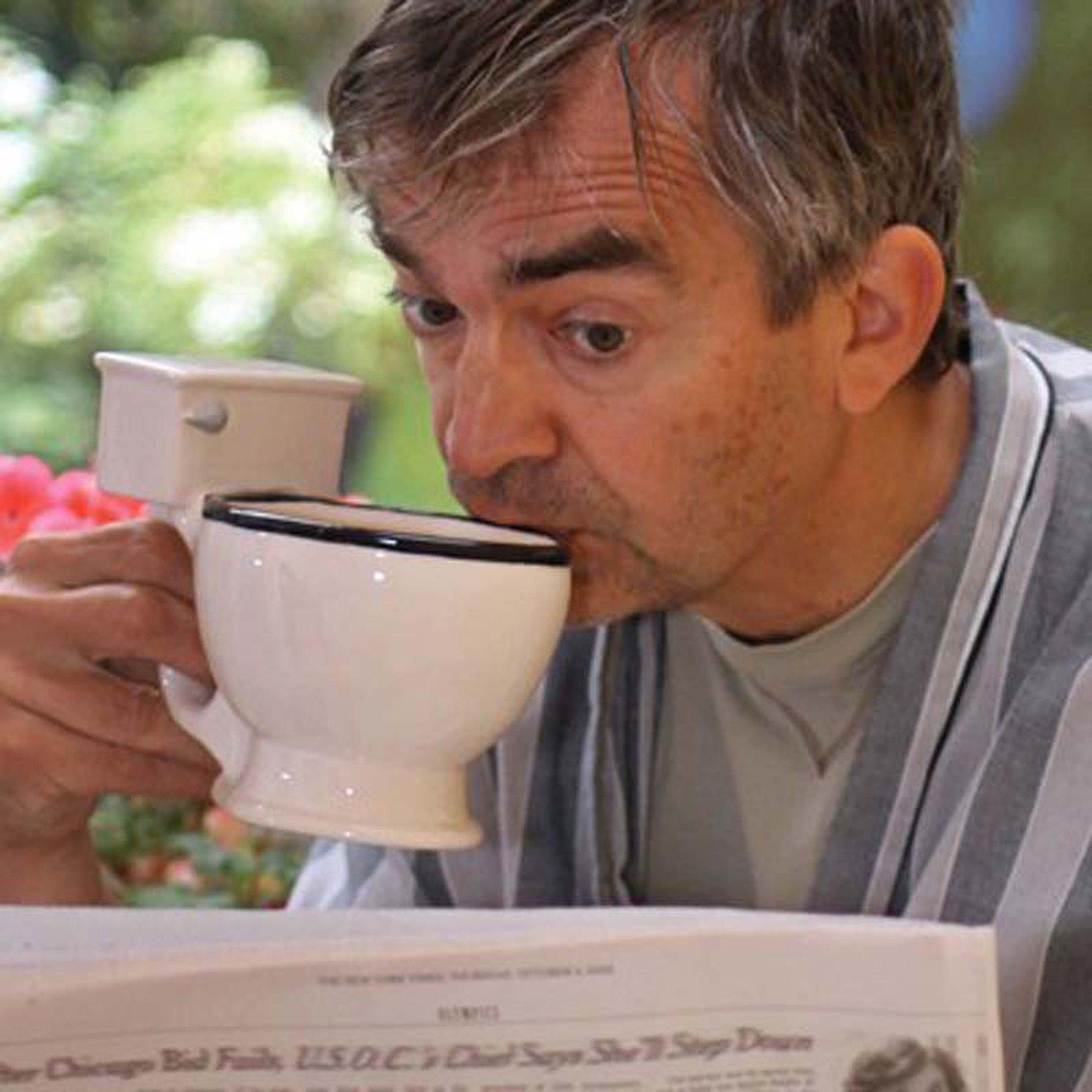 BigMouth Inc Toilet Mug, Ceramic Funny Gag Gift Perfect for Coffee, Tea